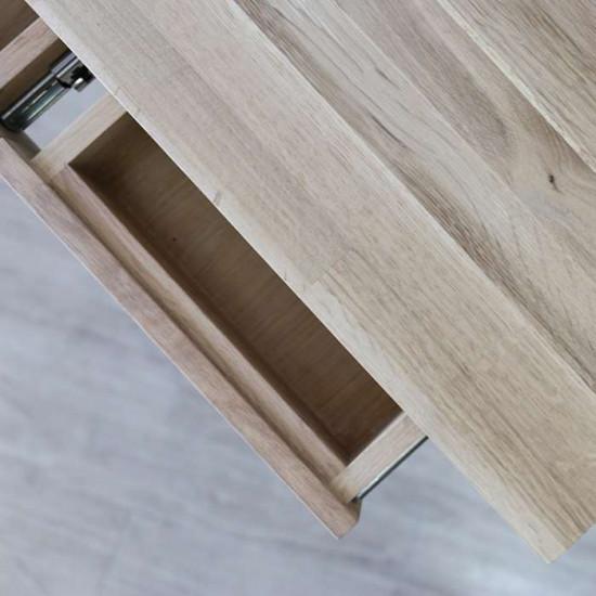 [Final Sale] PIECE CURVE Console - Light Natural Oak