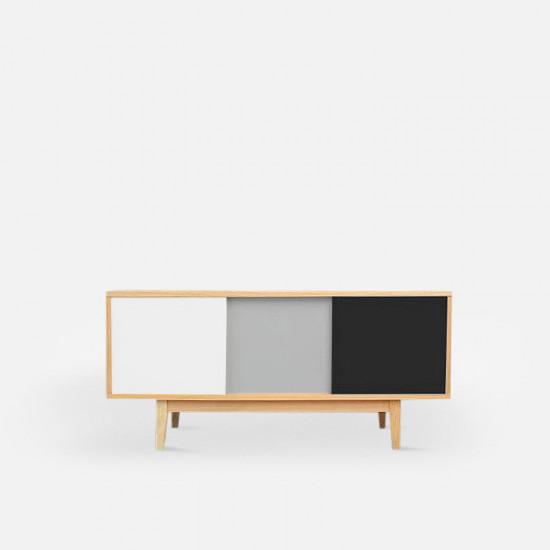 Coloma TV Board W120, Black