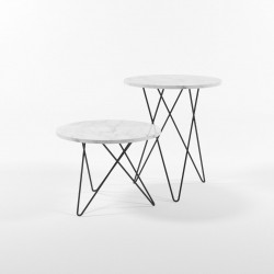 IND Marble Side Table