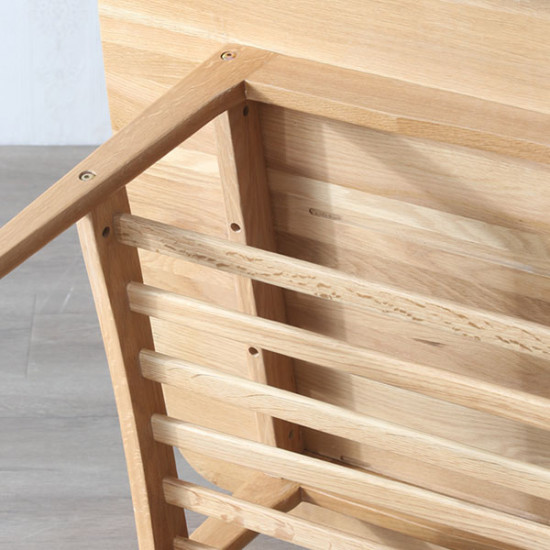 Breeze Coffee Table L75/L105/ L130 Oak