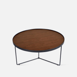 NOVA MDF Walnut veneer Coffee Table D54