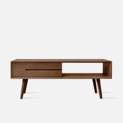 ZIPLINE Coffee Table, W120, Walnut