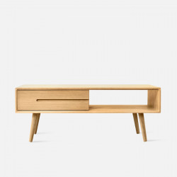 ZIPLINE Coffee Table, W120, Oak