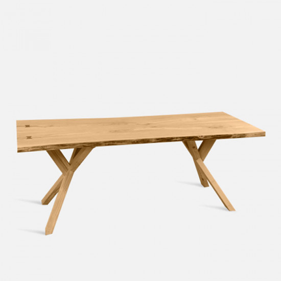 Willow Live Edge Table, L135-190