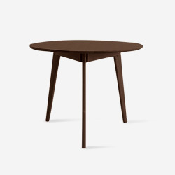 Tri Table, D70-90, Walnut