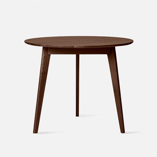 Tri Table, D70-90, Walnut