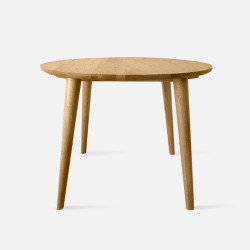 Solid Oak Round, L70, Oak [In-Stock]