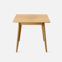 DOLCH Square Table L60-80 Walnut Brown [Final Sale]