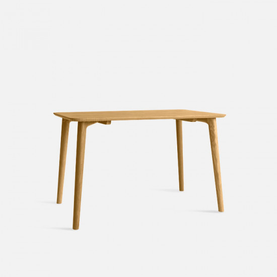 OAKI Dining Table L120-180, Oak