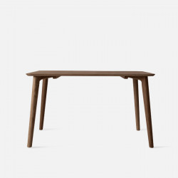 OAKI Dining Table L120-180, Natural Walnut