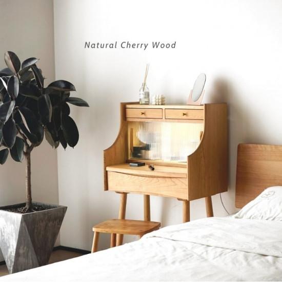 NADINE Dressing Table, Oak/Cherry