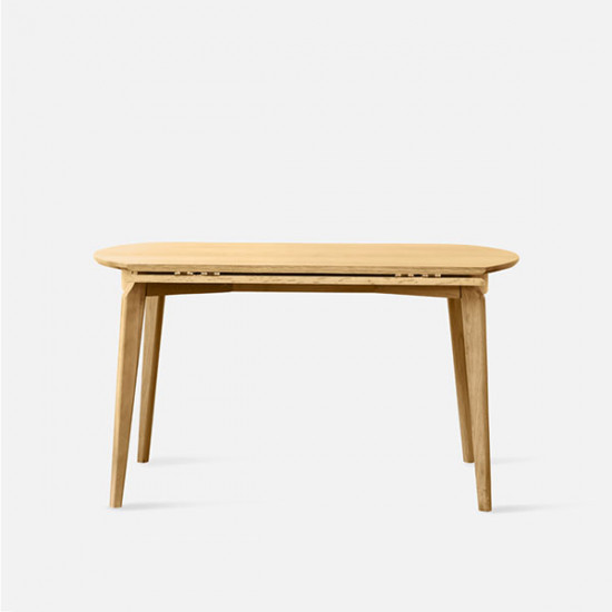 DOLCH Extendable Round Table, Oak