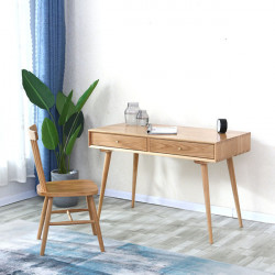 [Sale] NOR Workdesk, L80-140, Oak