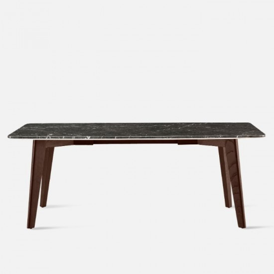 NOVA Marble Table, Dark Grey L140, L160 [In stock]