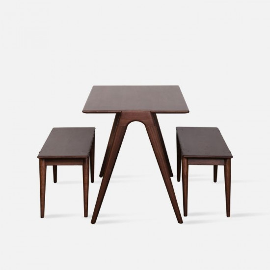 Minimal Table, Dark Walnut, L110
