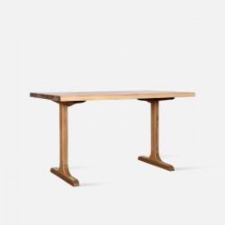 Live Edge Table, Natural Ash