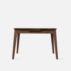 Shima Extendable Table L110-L140, Walnut Brown