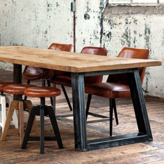 Industrial Dining Table L120-180