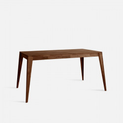Piece Table L120-140 - Walnut