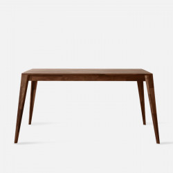 Piece Table L140 - Walnut