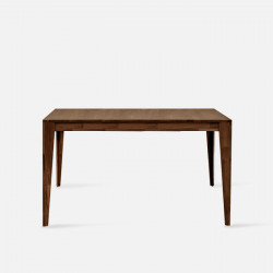 Piece (Straight legs) L110-130 - walnut