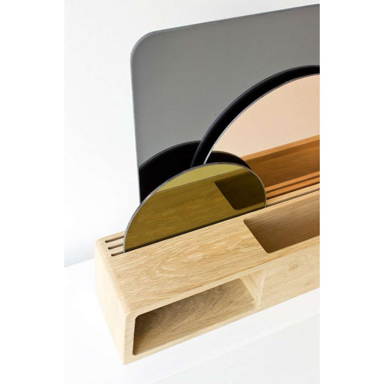 Display with mirrors