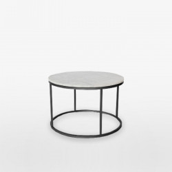 Marble Round Coffee Table D60
