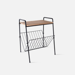 Side Table with rack small