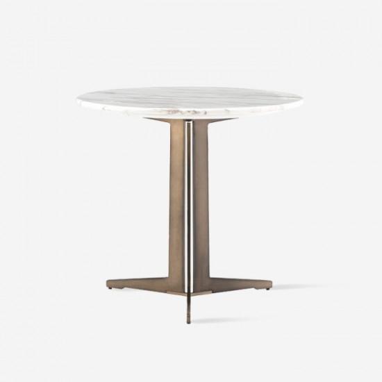(SALE) NOVA One Leg Side Table SET