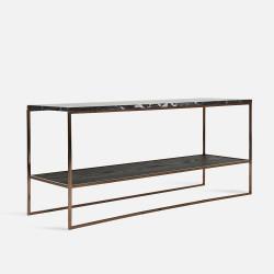 NOVA Long Coffee Table W110, Black marble