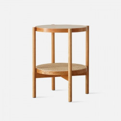 NAIDNE Glass Side Table