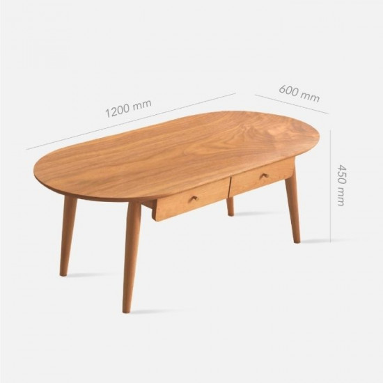 NAIDNE Coffee Table with drawer L120