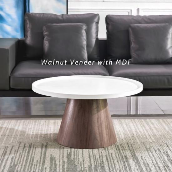 Willow Walnut Veneer coffee table