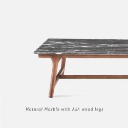 NOVA Natural Marble Square Coffee Table II