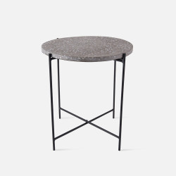 [SALE] Side Table Terrazzo - Grey