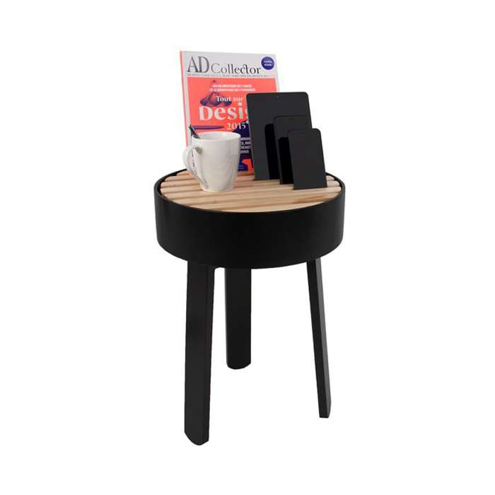 TRELLIS side table - Black