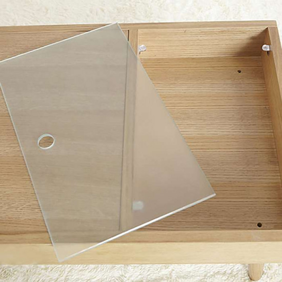 MD Coffee Table L90, Oak