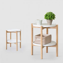 Double Layer Side Table