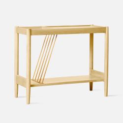 BROOK Side Table, Natural Oak