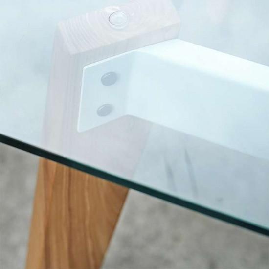 Pack Square Table, L75, Teak [Display]