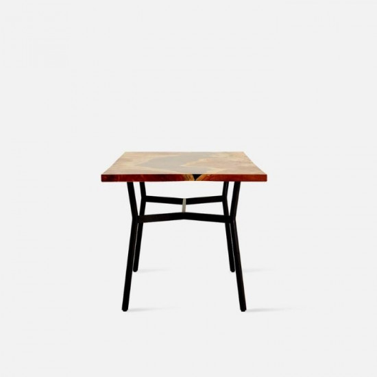 Mimba with Resin Table Top