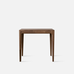 [Final Sale] PIECE CURVE Console - Natural Walnut