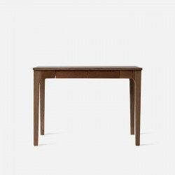 DANA Curved Work Desk L100/L120, Walnut