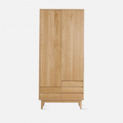 Dolch Side Wardrobe, Oak