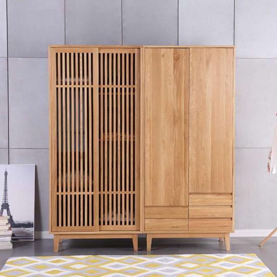 Dolch Side Wardrobe, Oak, Custom
