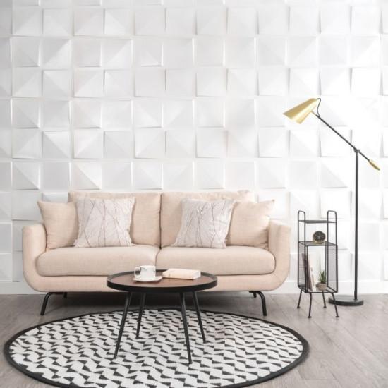 Pinion White Cushion