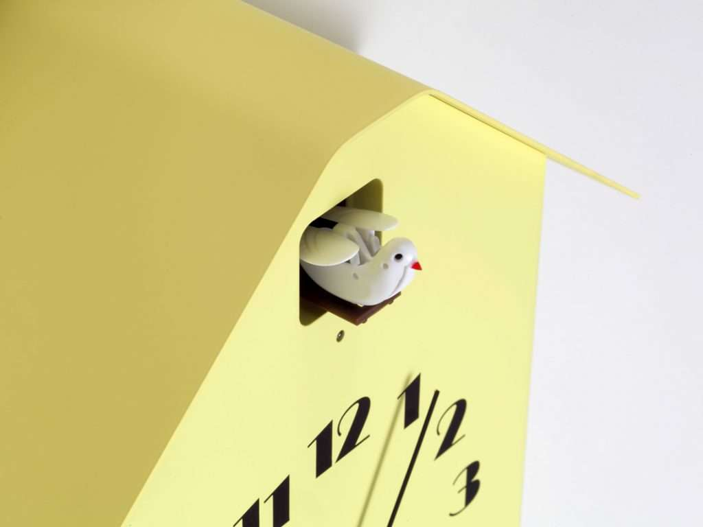 Innovative Crafted Clocks Colorful Geometric Shapes Circuit Board Pattern Square Wall Clock Shape That Follows Of A Upper Window While Having Basic Form The Details Are And Add To Attraction Cuckoo