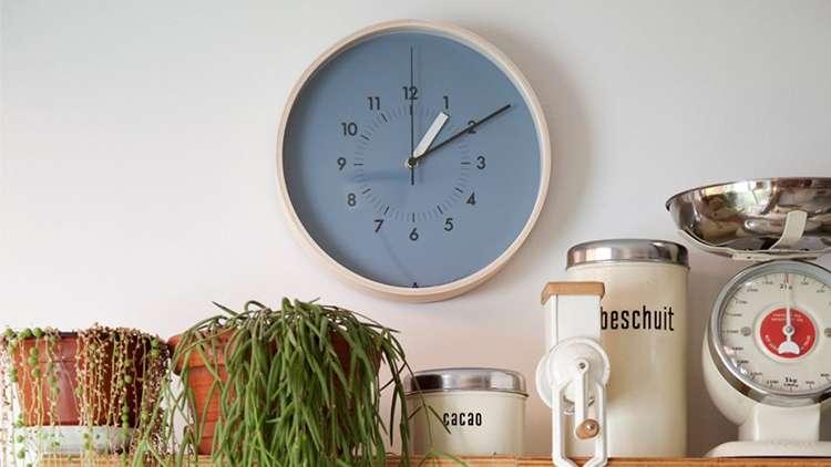 Lemnos SOSO Wall Clock Japan Orange AWA13-06 OR
