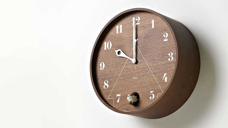 ... Either A Wall Or Table Clock. Choose Between Four Different Types:  Natural, Brown With Japanese Ash Wood Grain, Modern White, And A Obsidian  Black That ...